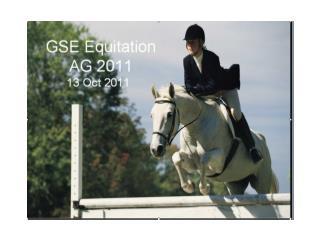 GSE Equitation AG 2011