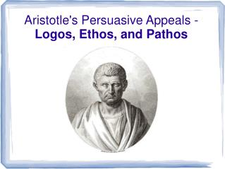 Aristotle's Persuasive Appeals -  Logos, Ethos, and Pathos