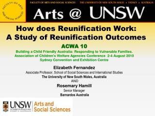 How does Reunification Work:  A Study of Reunification Outcomes