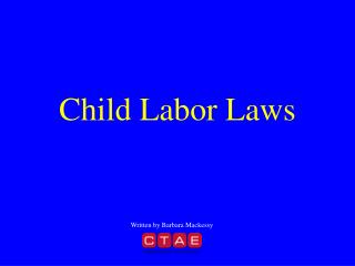 Child Labor Laws