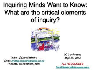 Inquiring Minds Want to Know: What are the critical elements of inquiry?