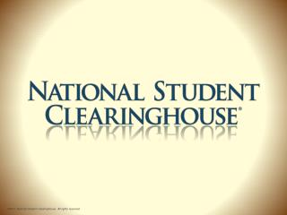 What is the  Clearinghouse