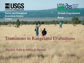 Transitions in Rangeland Evaluations