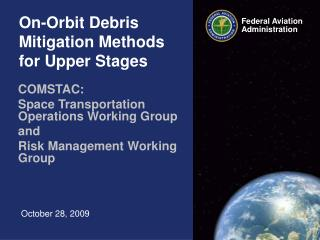 On-Orbit Debris Mitigation Methods for Upper Stages