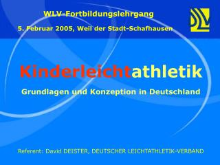 Kinderleicht athletik