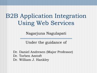 B2B Application Integration Using Web Services
