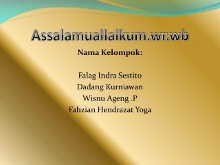 Assalamuallaikum.wr.wb
