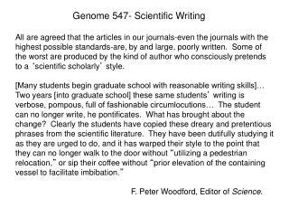 Genome 547- Scientific Writing
