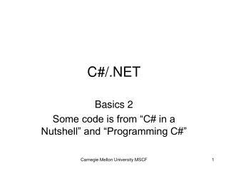 C#/.NET