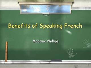 Benefits of Speaking French