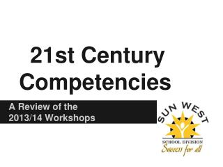 21st Century Competencies