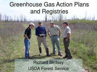 Greenhouse Gas Action Plans and Registries