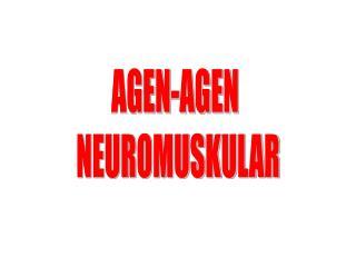 AGEN-AGEN  NEUROMUSKULAR
