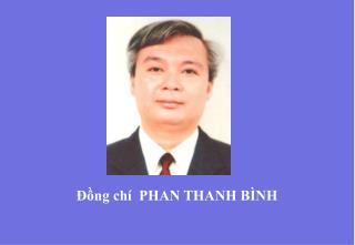 ??ng ch�  PHAN THANH B�NH