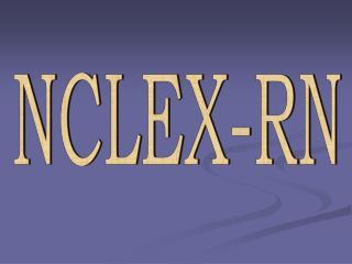 NCLEX-RN