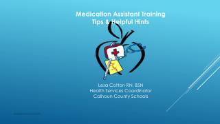 Lesa Cotton RN, BSN Health Services Coordinator Calhoun County Schools
