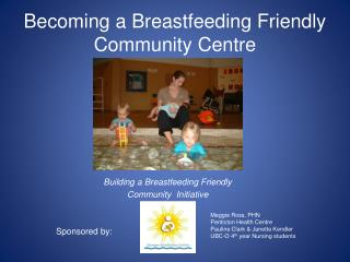 Becoming a Breastfeeding Friendly Community Centre