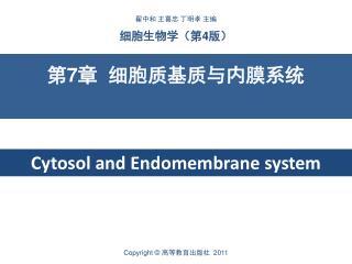第 7 章  细胞质基质与内膜系统
