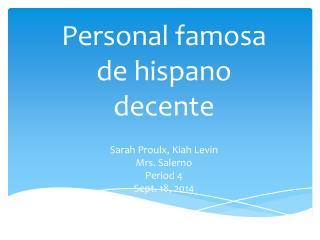 Sarah  Proulx ,  Kiah  Levin Mrs. Salerno Period 4 Sept. 18, 2014