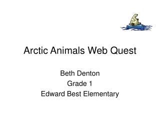 Arctic Animals Web Quest