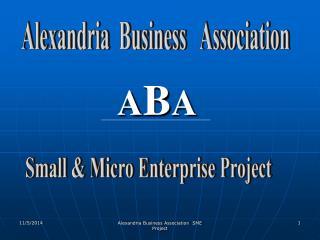 Alexandria  Business   Association