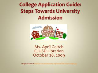 College Application Guide:  Steps Towards University Admission