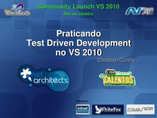 Praticando Test Driven Development no  VS 2010