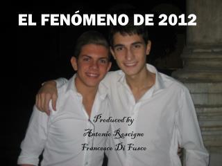 EL FEN Ó MENO DE 2012