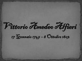 Vittorio Amedeo Alfieri