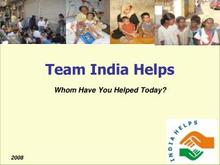 Team India Helps