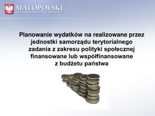 Planowanie wydatków na realizowane przez  jednostki samorządu terytorialnego