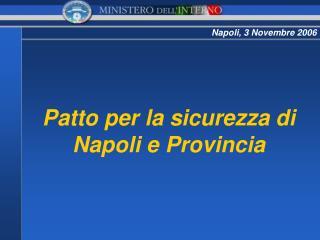 Napoli, 3 Novembre 2006
