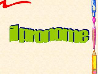 il pronome