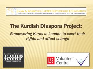The Kurdish Diaspora Project: