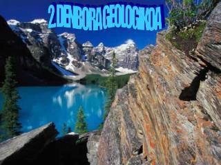 2. DENBORA GEOLOGIKOA