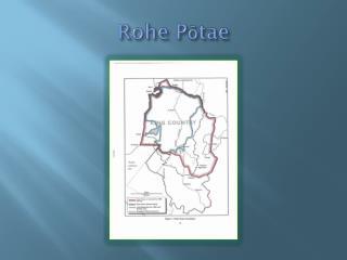 Rohe Pōtae