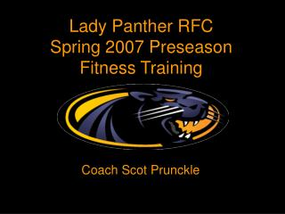 Lady Panther RFC