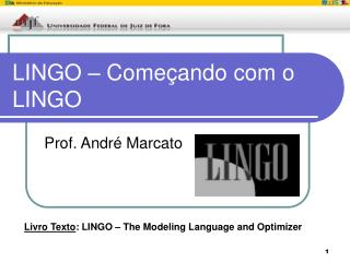 LINGO – Começando com o LINGO