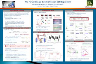 The Forward Angle (Low Q 2 ) Neutron GDH Experiment