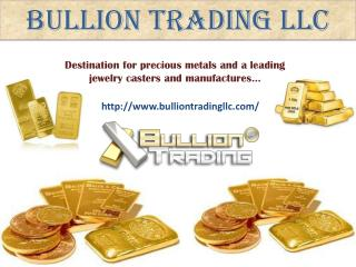 Buy Gold and silver bullion online in New York