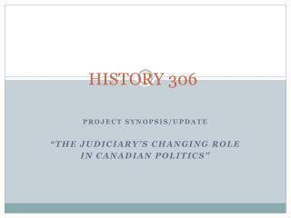 HISTORY 306
