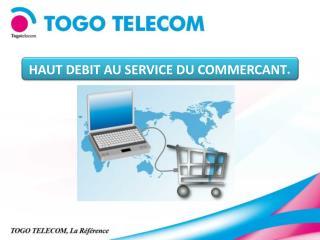 HAUT DEBIT AU SERVICE DU COMMERCANT .