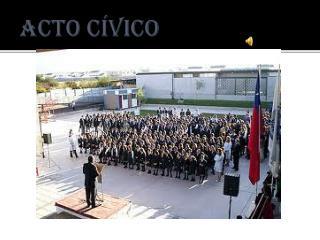 Acto cívico