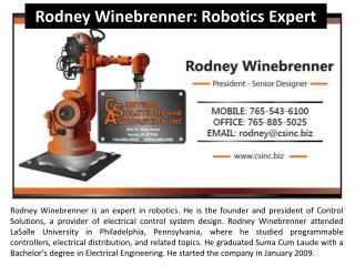 Rodney Winebrenner: Robotics Expert