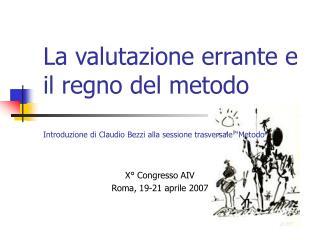 X� Congresso AIV Roma, 19-21 aprile 2007