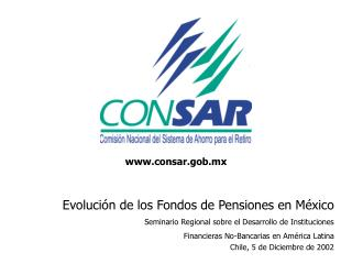 Evoluci�n de los Fondos de Pensiones en M�xico