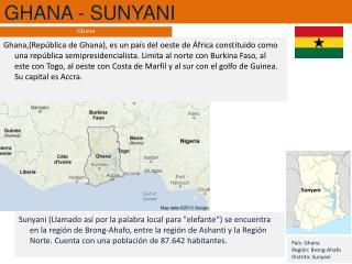 GHANA - SUNYANI