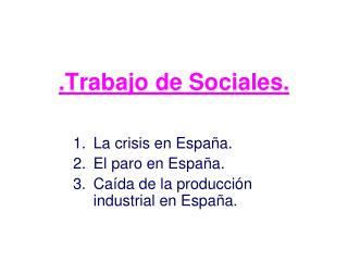 .Trabajo de Sociales.