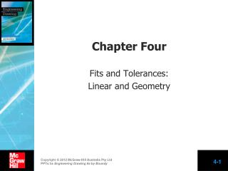 Chapter Four Fits and Tolerances: Linear and Geometry