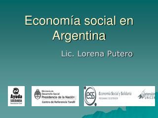 Economía social en Argentina
